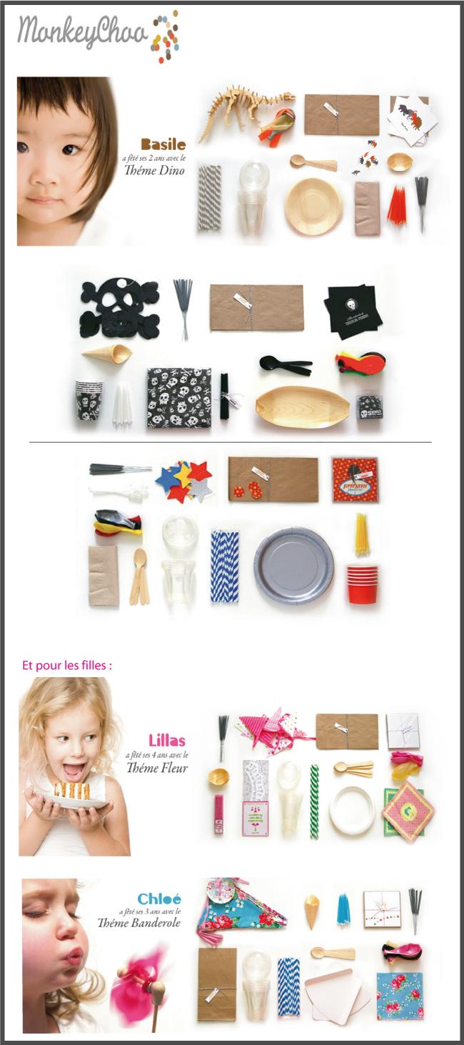 monkey-choo, décoration anniversaire enfant, by chiara stella home