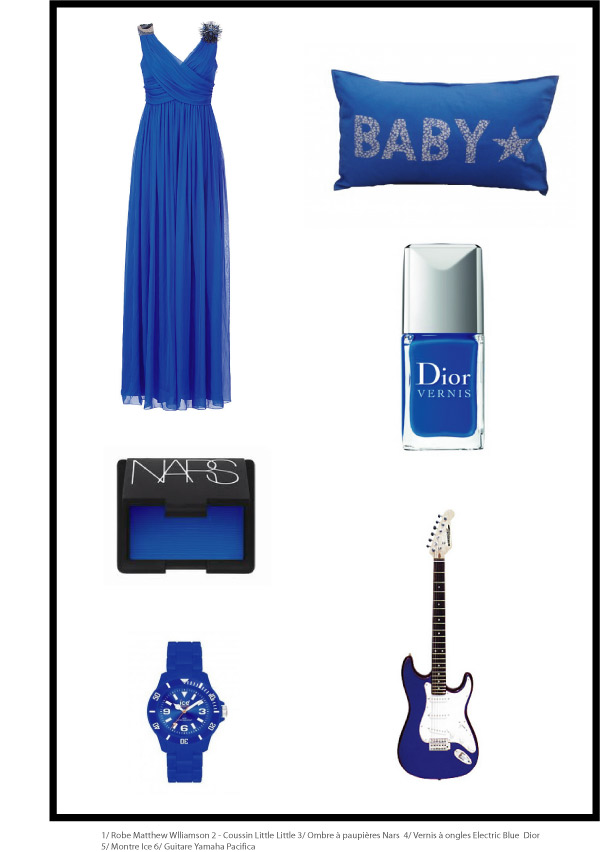 Electric blu - wish list - tendance bleu electrique by chiara stella home