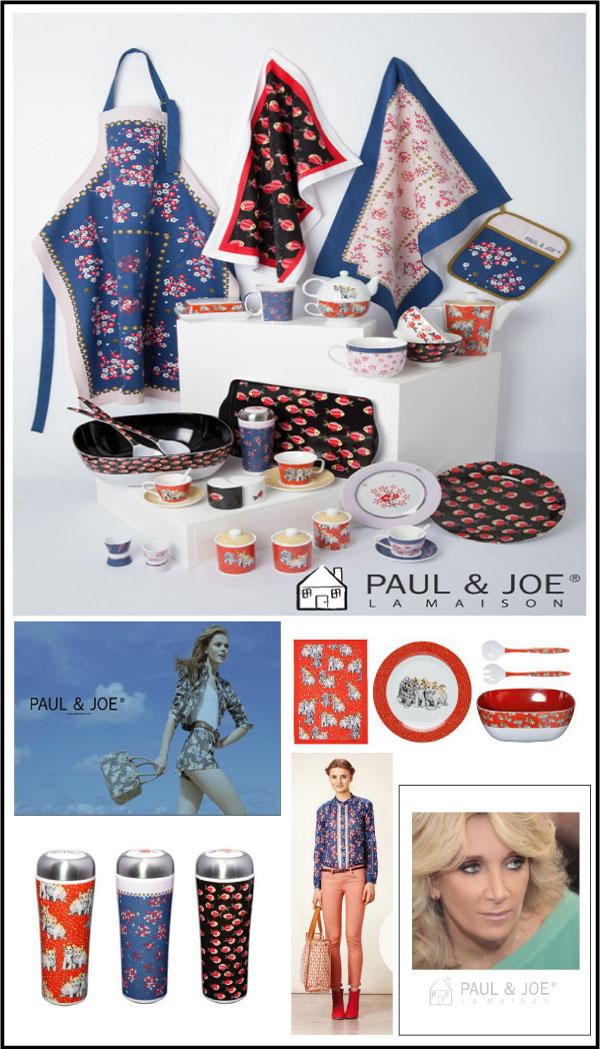 Paul-and-joe home collection par chiara stella home