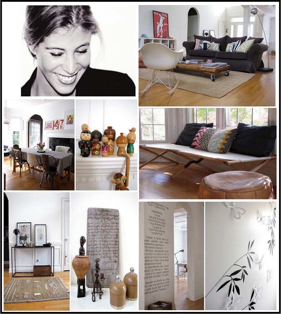 French-by-design blog déco ethnique chic, son intérieur par chiara stella home