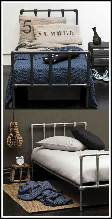 am nager une chambre d ado avec un lit en fer forg chiara stella home. Black Bedroom Furniture Sets. Home Design Ideas