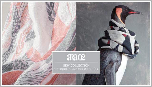 ara02 foulards en lin d'inspiration nordique par chiara stella home