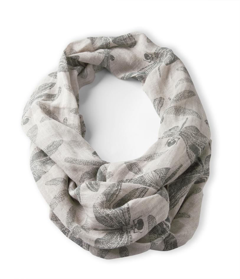 foulard en lin createur ara.02 Modèle AVA par chiara stella home