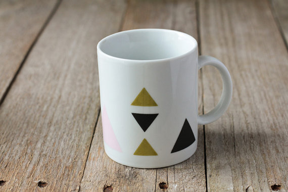 mug triangle par chiara stella home