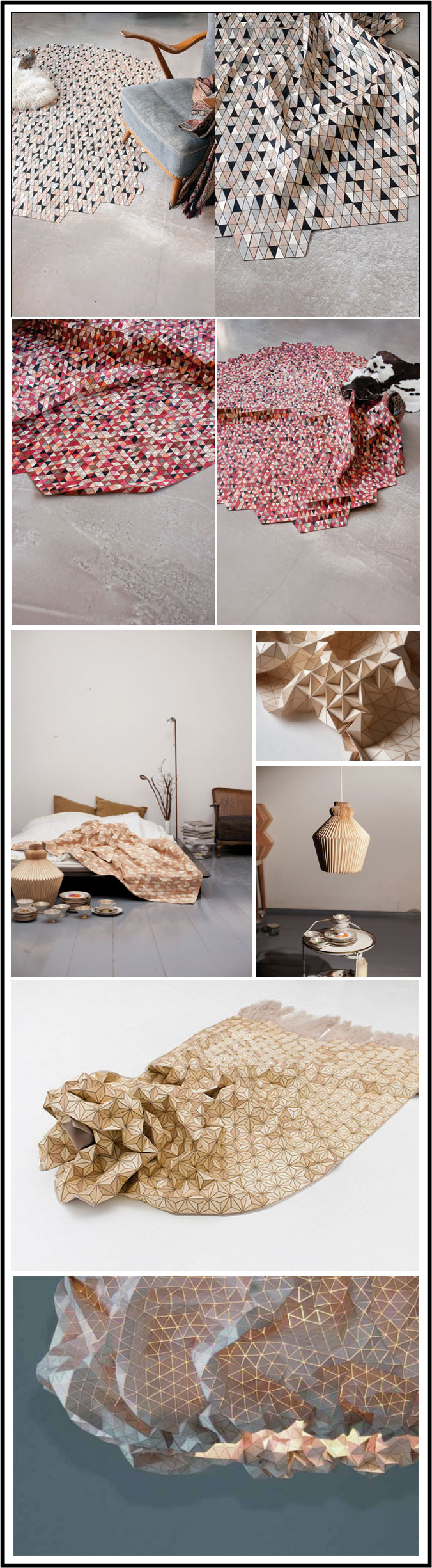 Elisa-Strozik designer lampes et tapis en bois par chiara stella home