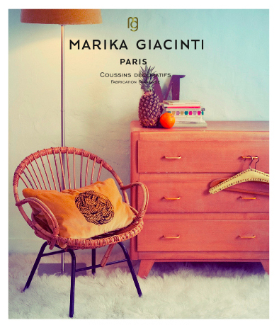Marika giacinti coussins chiara stella home