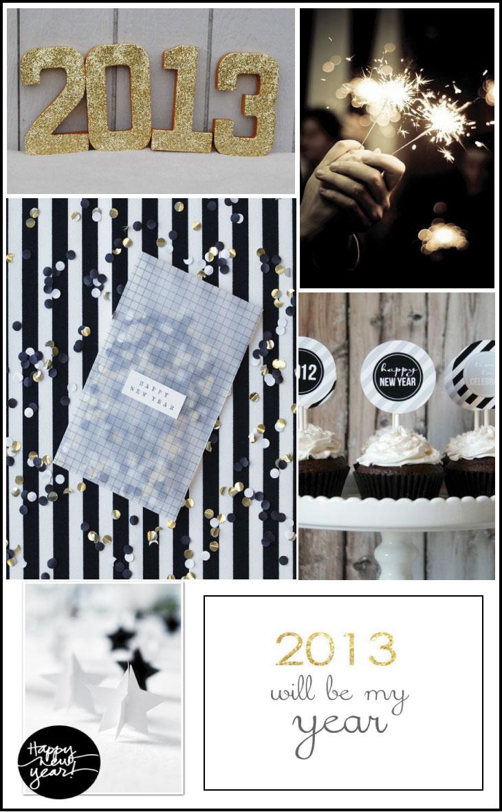 bonne année 2013, happy 2013, feliz 2013 par chiara stella home