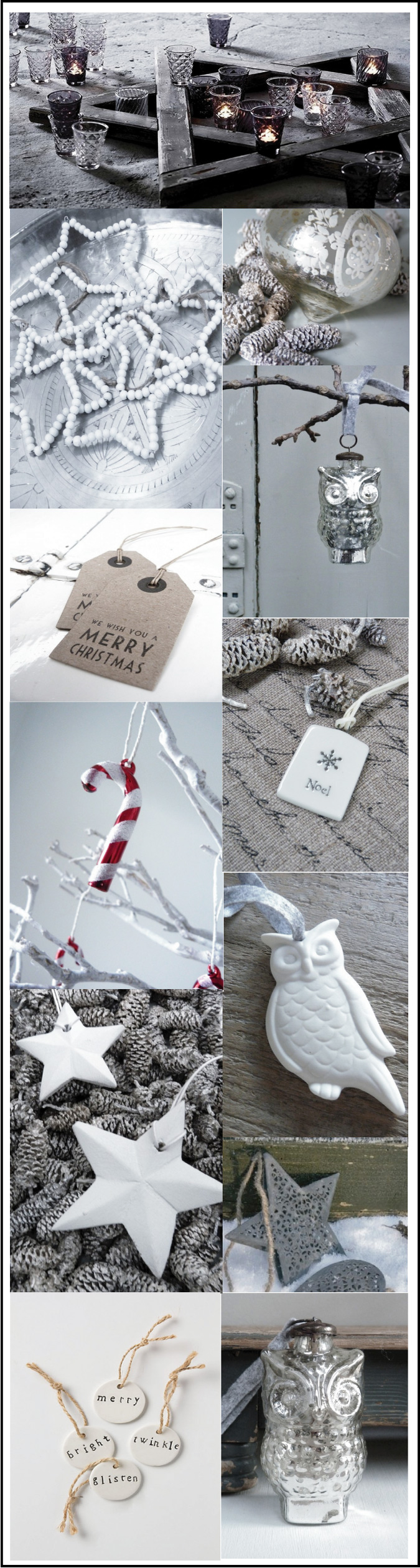 decorations et boules de Noel scandinaves chiara stella home