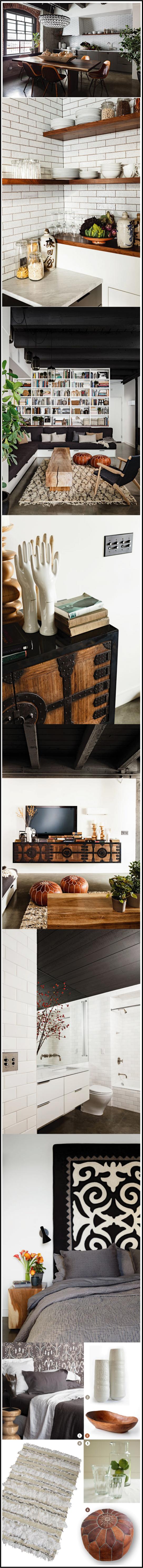 rehabilitation d'un loft par Jessica-Helgerson-Interior-design