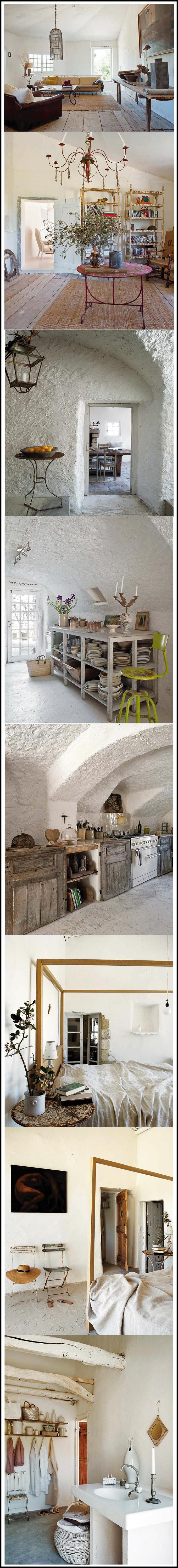 une maison rurale chic blanche par chiara stella home