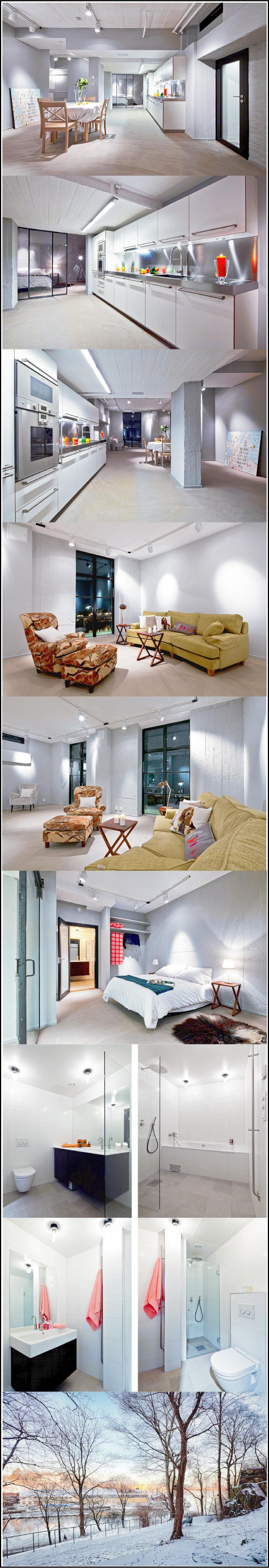 Loft suedois par for interieur chiara stella home for Interieur new yorkais