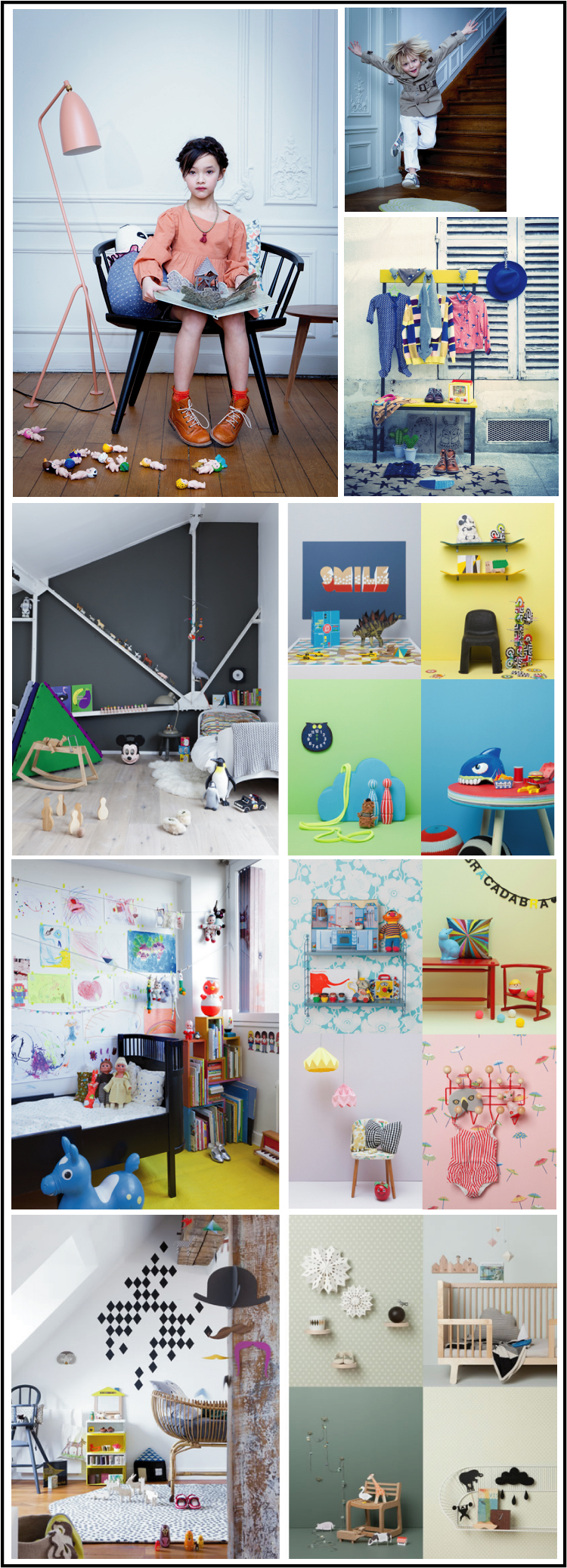julie-ansieu-photographies-chambres enfants et portraits enfants parues dans milk, papier mach, 