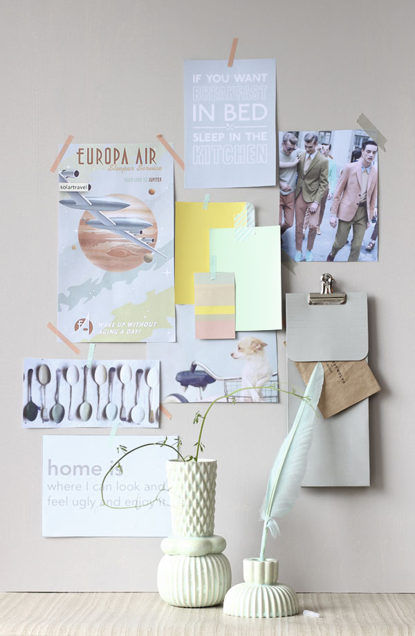 mood board pastel inspirations par chiara stella home