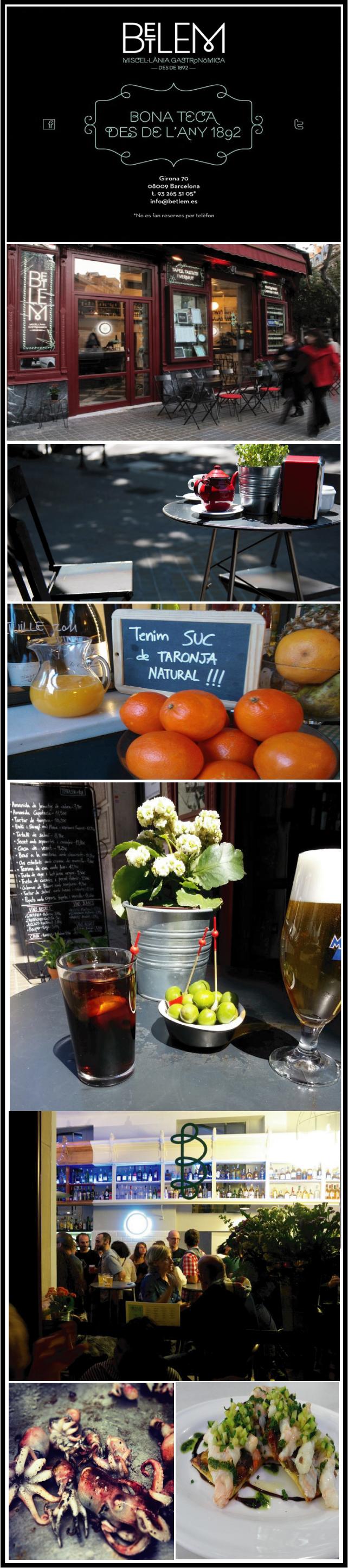 Betlem.bar a tapas gastronomiques barcelone chiara stella home
