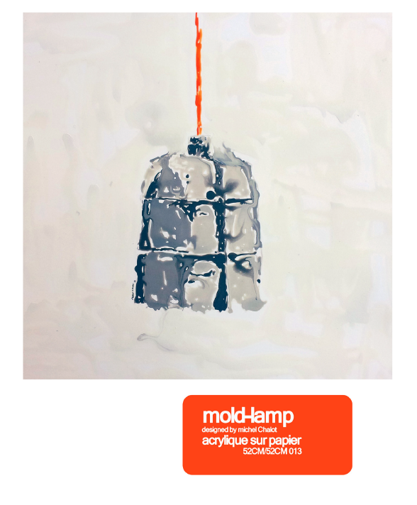 Mold lamp Michel charlot