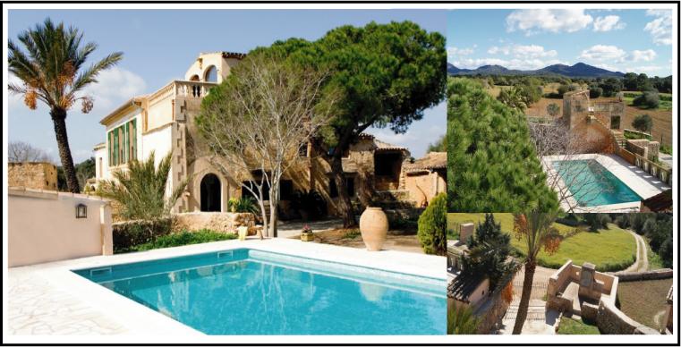 villas à louer espagne, portugal, france , andorre