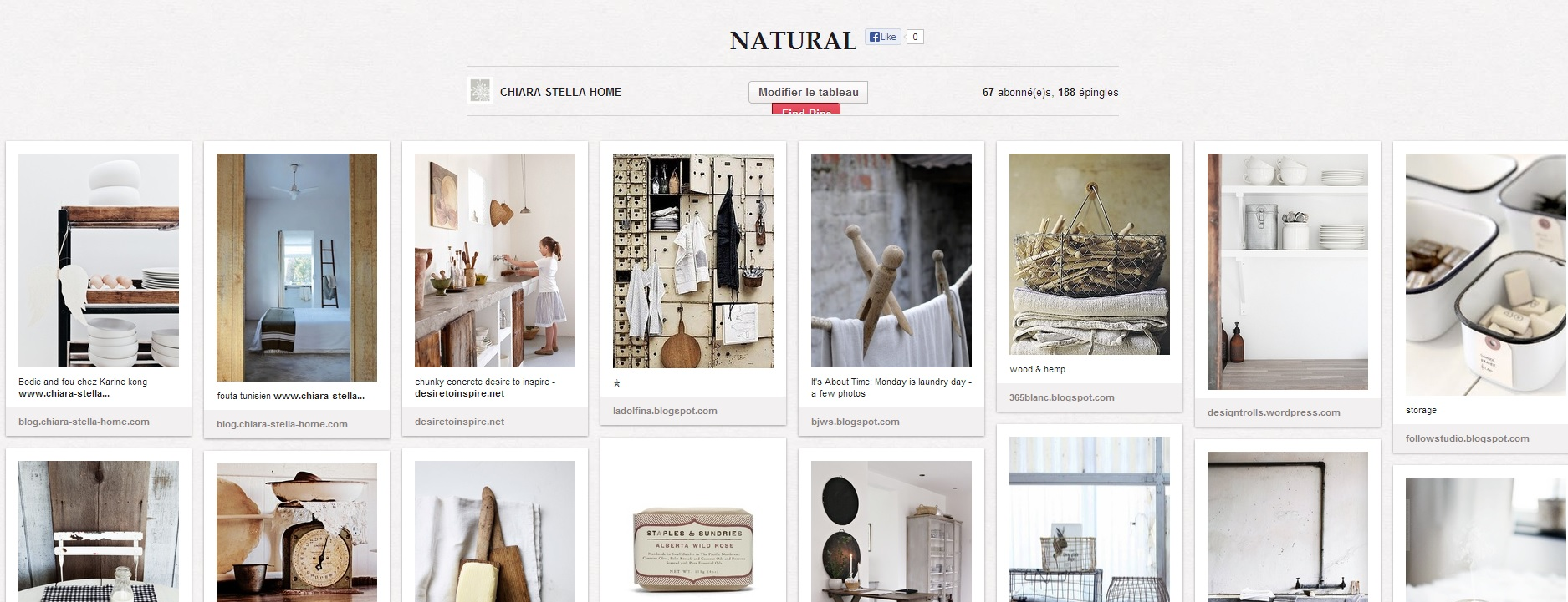 pinterest chiara stella home natural