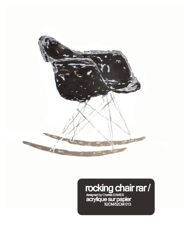 rocking chair rar eames