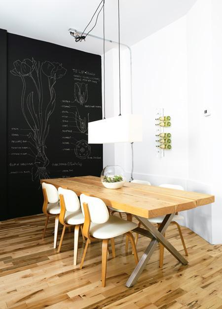 mur tableau noir chiara stella home