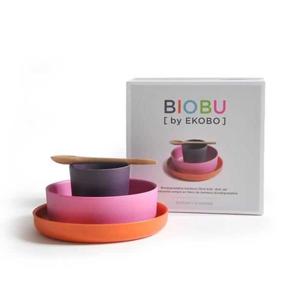 vaisselle enfant bambou ekobo biobu chiara stella home