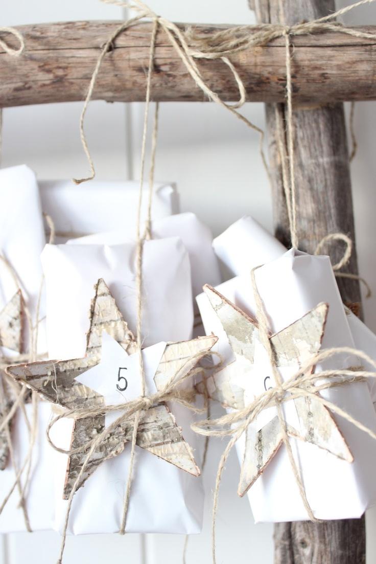 calendrier de l'avent DIY jeanettes hus