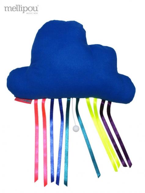 doudou-nuage musical-nuage-bleu tube hits mellipou chiara stella home