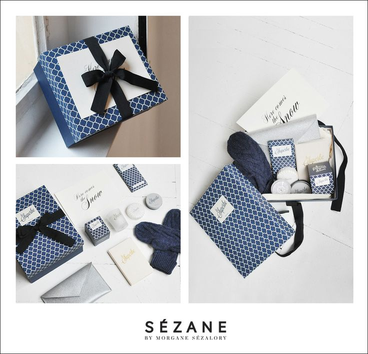 coffret here come the snow by sezane chiara stella home