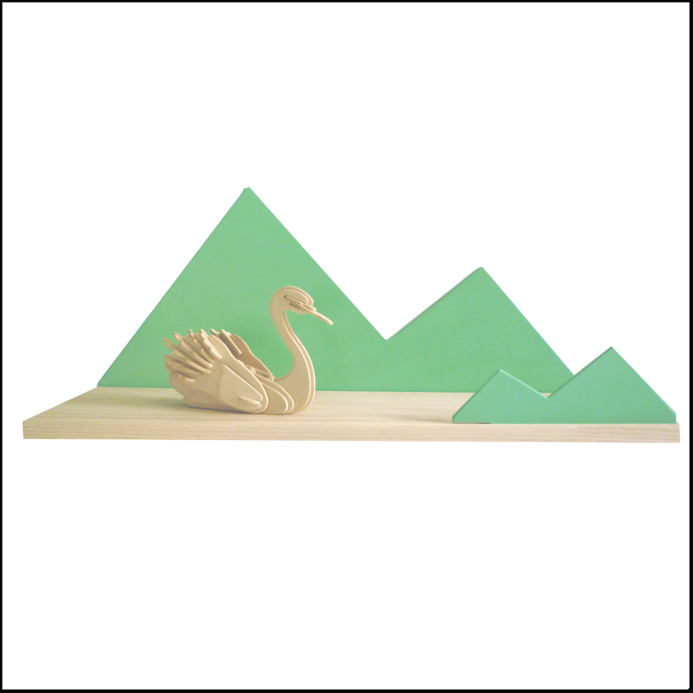 etagere enfant mint forme mountain coccoli home cimes montagne design enfant chiara stella home.