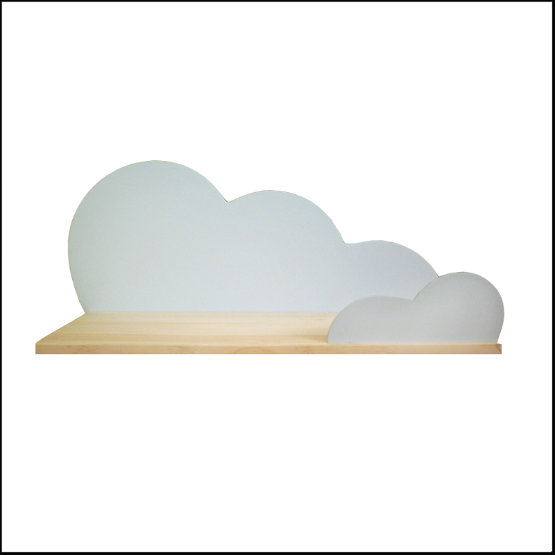 etagere nuage cloud creme coccoli home chiara stella home