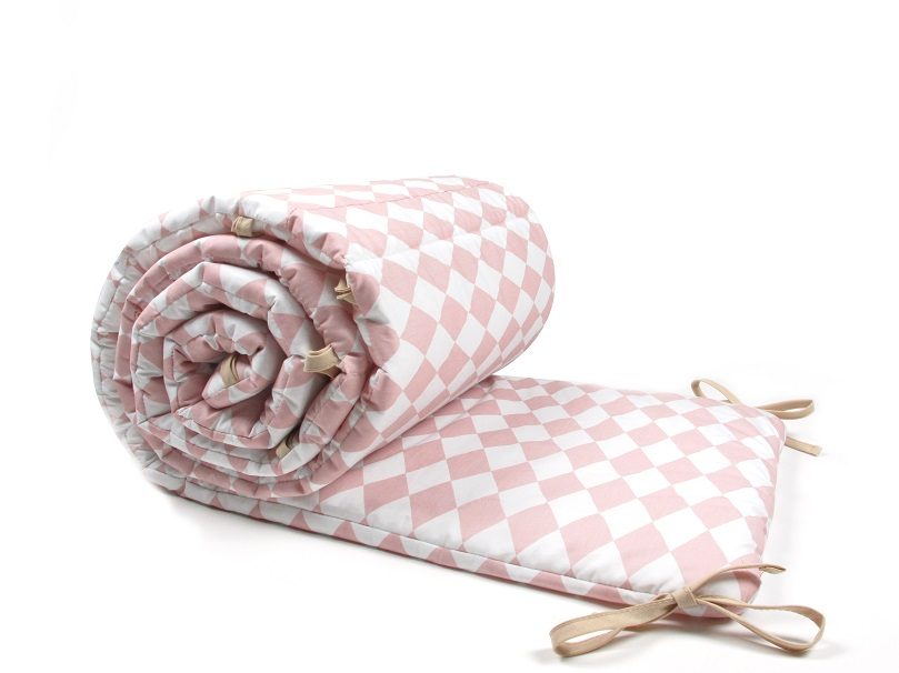 arlequin rose tour de lit fille nobodinoz