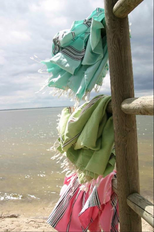 foutas tunisiens draps de bain , pareos, serviette de plage, fouta by johanne, chiara stella home 4