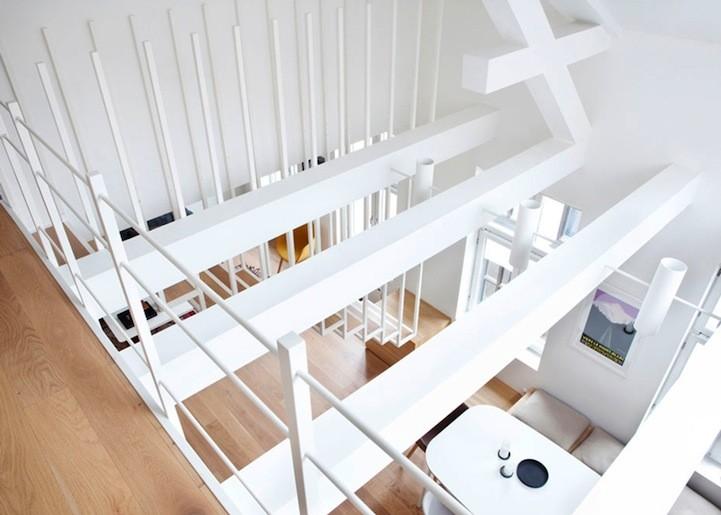 escalier flottant haptic studio