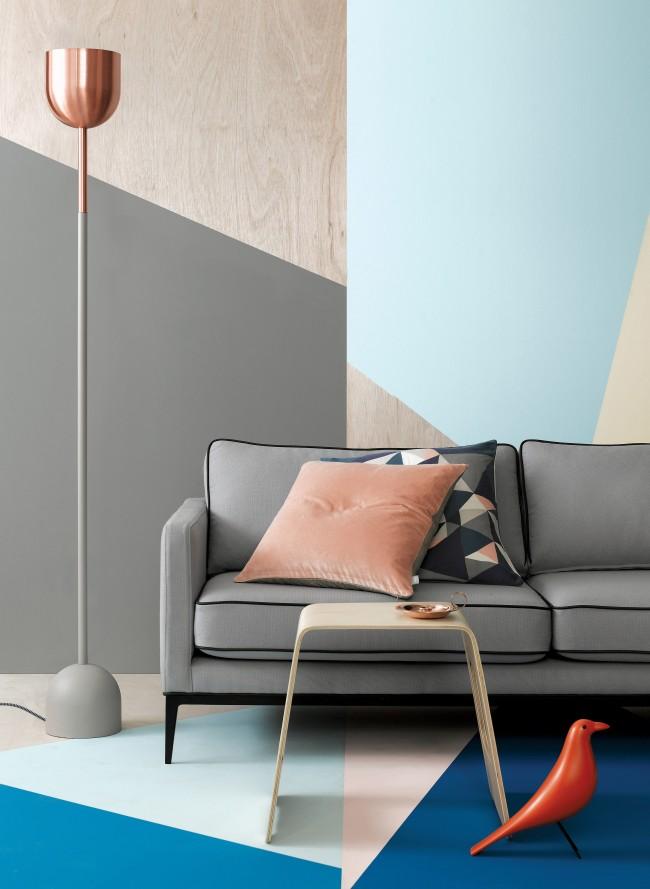 luminaire beton , cuivre josh and jenna par chiara stella home 6