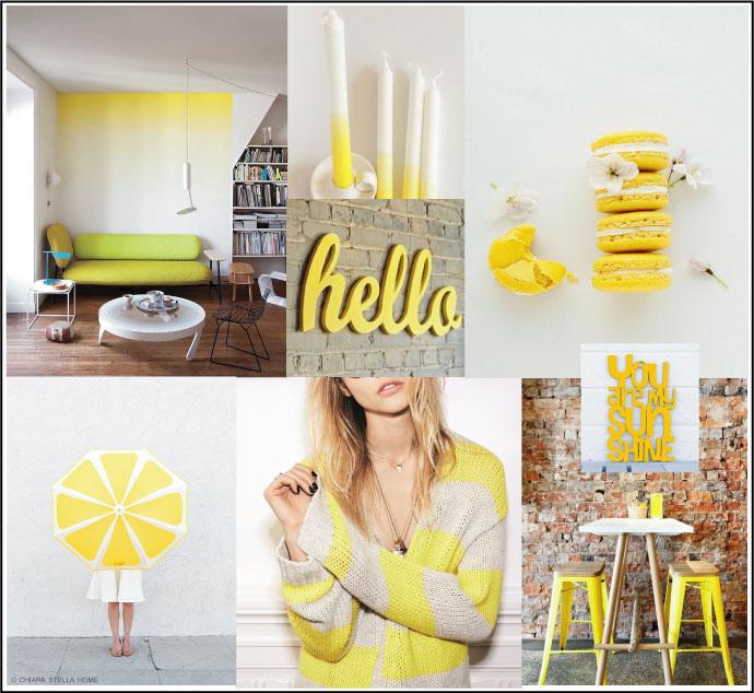 mood board jaune ete 2015 chiara stella home
