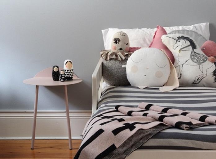 chambres d'enfant en noir et blanc par chiara stella home's blog 11