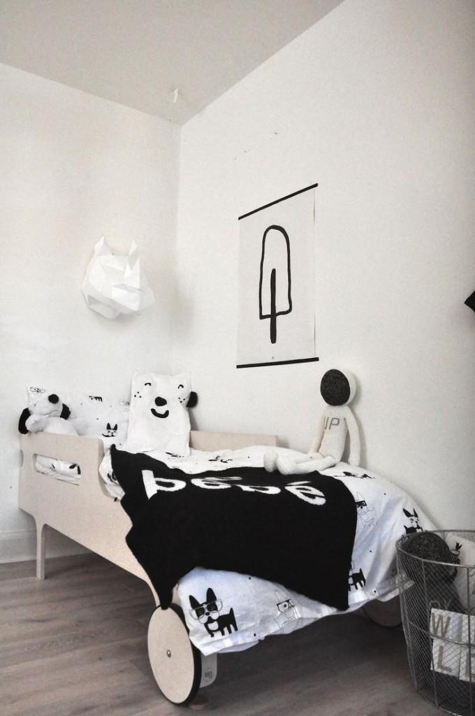 chambres d'enfant en noir et blanc par chiara stella home's blog 5