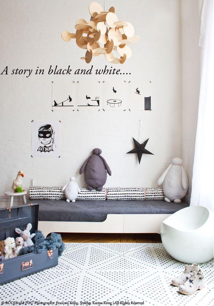 chambres d'enfant en noir et blanc par chiara stella home's blog 6