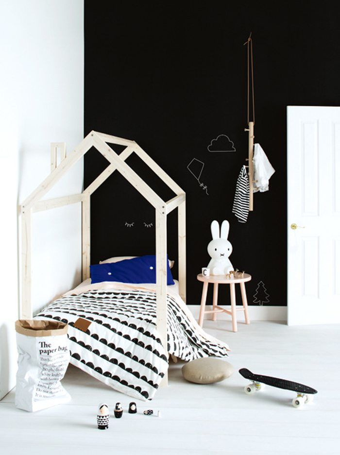 chambres d'enfant en noir et blanc par chiara stella home's blog 7