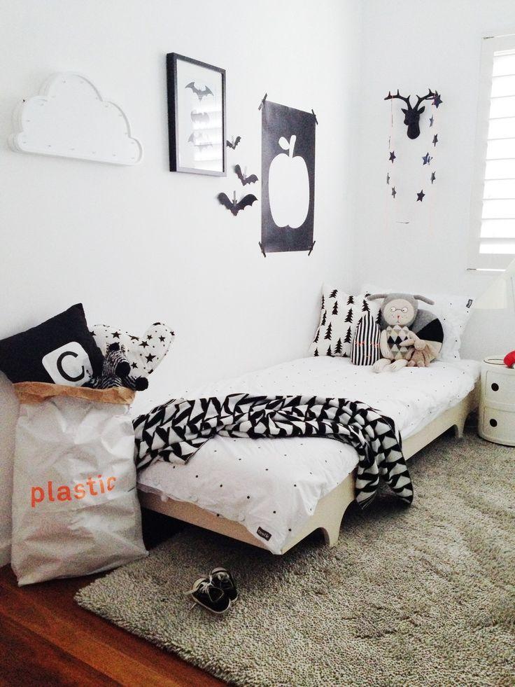 chambres d'enfant en noir et blanc par chiara stella home's blog