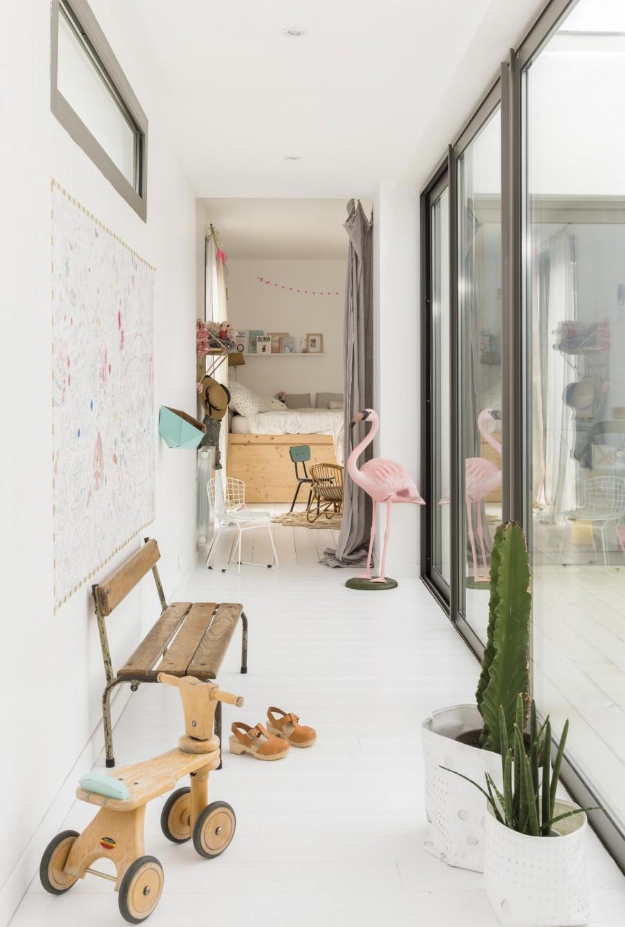 Chez-constance -et-dorian -biarritz-interieur bois-blanc7