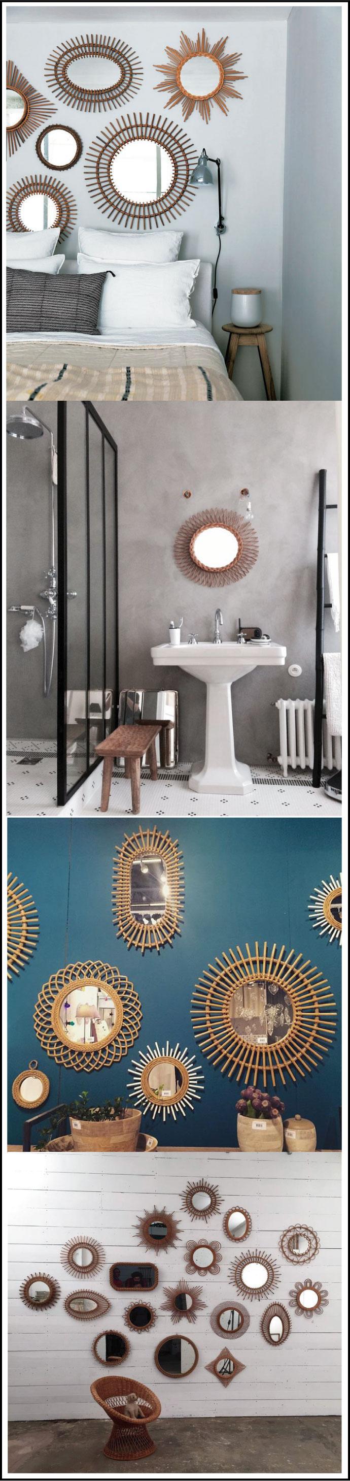 tendance-rotin -osier-miroirs en-rotin-chiara-stella-home