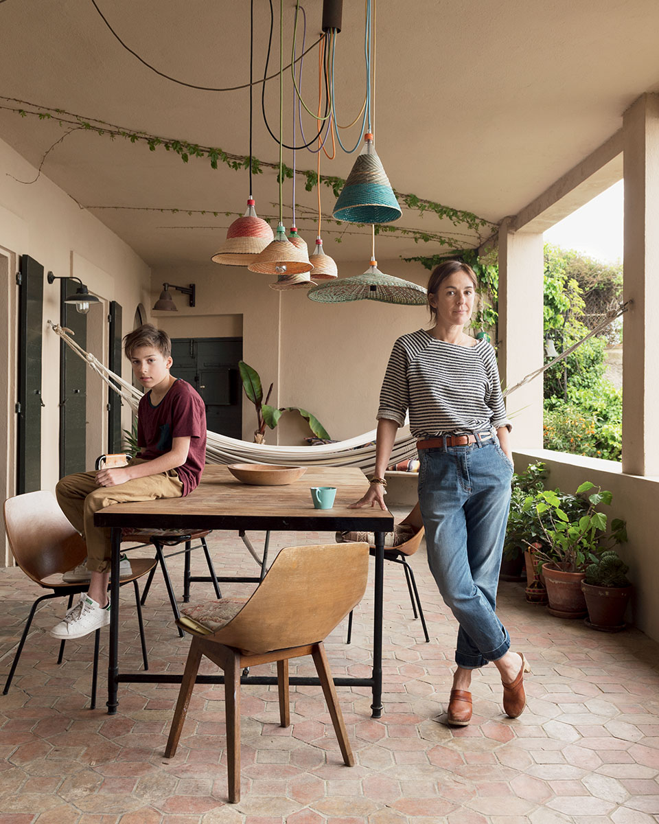 la maison boheme de la creatrice de sessun chiara stella. Black Bedroom Furniture Sets. Home Design Ideas