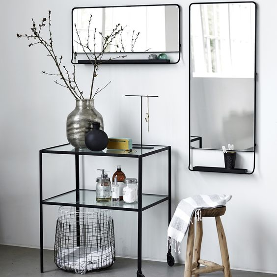 miroirs pour salle de bains chiara stella home. Black Bedroom Furniture Sets. Home Design Ideas