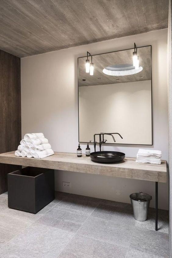 meuble salle de bains miroir salle de bain design par
