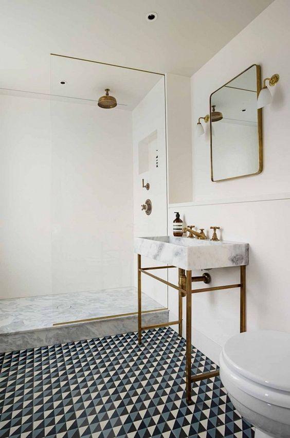 meuble-salle-de-bains-miroir salle de bain- design- par chiara-stella-home7