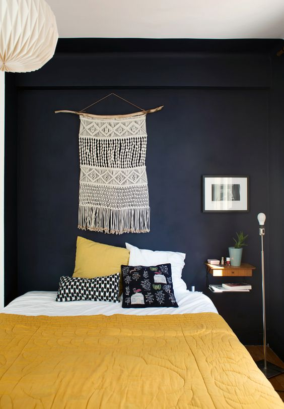 tissage mural macrame la tendance boho chiara stella home. Black Bedroom Furniture Sets. Home Design Ideas