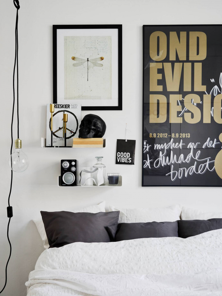 appartement -scandinave-noir -or-1