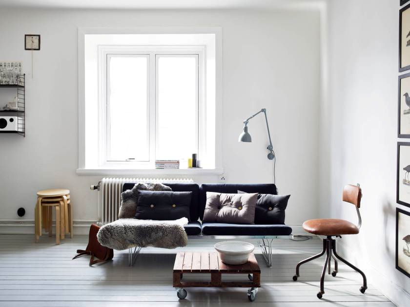 appartement -scandinave-noir -or-4