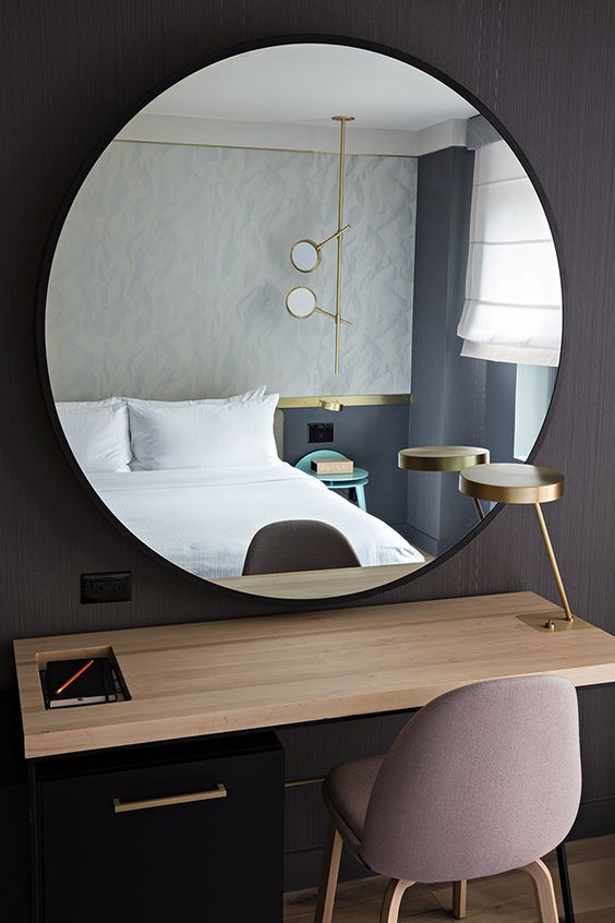 Must have miroir rond xxl chiara stella home for Miroir rond chambre