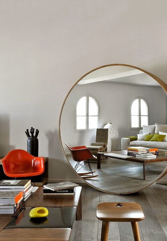 must have miroir rond xxl chiara stella home. Black Bedroom Furniture Sets. Home Design Ideas